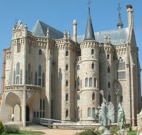 Astorga: Bischofspalast