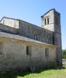 Barbadelo: Iglesia de Santiago
