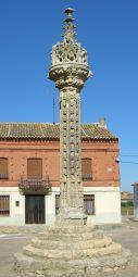 Boadilla del Camino: Gerichtssäule