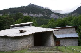 Kirche von Canfranc Estacion
