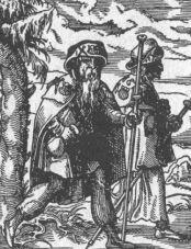 historische Pilger