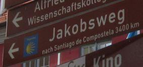 Auf dem deutschen Jakobsweg
