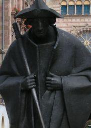 Hl. Jakobus mit Pilgerstab
