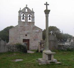 Lestedo: Iglesia de Santiago