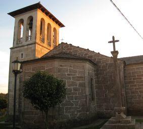 Palas de Rei: Iglesia de San Tirso