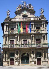 Pamplona Rathaus
