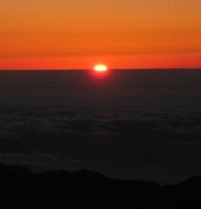 Pilgerreise zum eigenen Sonnenaufgang