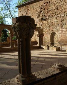 Kloster San Juan de la Pena, Kreuzgang