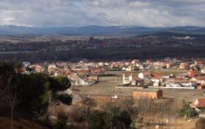 Blick auf San Justo de la Vega (vorne) und Astorga