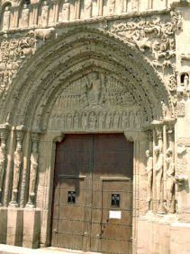 Sangüesa, Kirchenportal